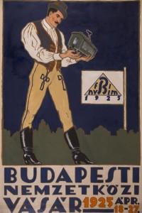 BNV, plakat 1925 vegyes techn, papir