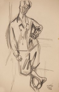 Bricsesznadragos onarckep 1929_06_03 Parizs ceruza, papir (3